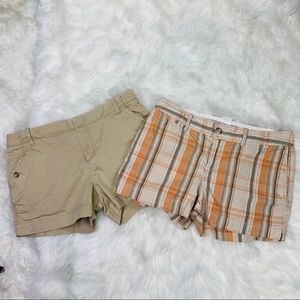 Two Pair Size 8 Old Navy Shorts